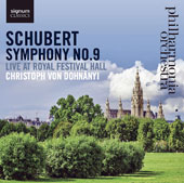 Schubert: Symphony No. 9, Live at Royal Festival Hall / Philharmonia Orchestra, Christoph Von Dohnányi
