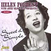 Helen Forrest: Vol. 2: Sweet and Simple