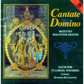 Cantate Domino - Motets by Famous Masters