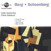 Schoenberg: Piano & Violin Concertos;  Berg: Violin Concerto