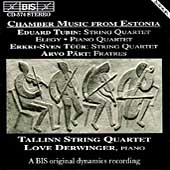 Chamber Music from Estonia / Derwinger, Tallinn String Qt