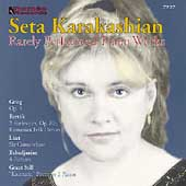 Rarely-Performed Piano Works - Liszt, etc / Seta Karakashian