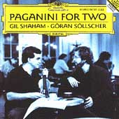 Paganini For Two / Gil Shaham, G&#246;ran S&#246;llscher