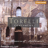 Torelli: Concertos / Standage, Collegium Musicum 90