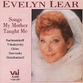 Evelyn Lear - Songs My Mother Taught Me
