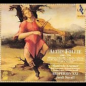 Altre Follie 1500 - 1750 / Savall, Hesp&egrave;rion XXI, et al