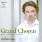 Grand Chopin: Works for Piano & Orchestra / Janne Mertanen, piano; Turku PO; Jani Telaranta