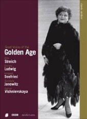 Great Voices of the Golden Age / Rita Streich, Christa Ludwig, Gundula Janowitz, Irmgard Seefried [DVD]