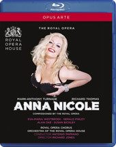 Turnage: Anna Nicole / Pappano, Westbroek, Bickley, White [Blu-Ray]