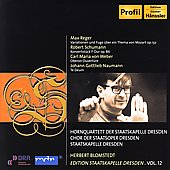 Reger, Schumann, Weber, Naumann / Herbert Blomstedt, et al