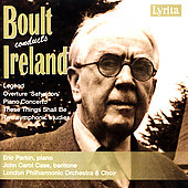 Boult conducts Ireland - Legend, etc / Boult, London PO