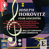Horovitz: Four Concertos / Horovitz, Cross, Mead, et al