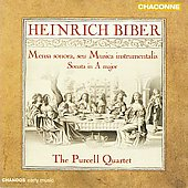 Biber: Mensa sonora, Violin Sonata / The Purcell Quartet