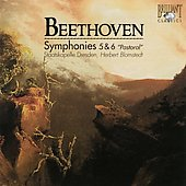Beethoven: Symphonies no 5 & 6 / Blomstedt, Staatskapelle Dresden