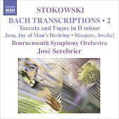 Stokowski: Bach Transcriptions Vol 2 / Serebrier, Bournemouth SO