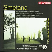 Smetana: Music from the Bartered Bride, etc / Gianandrea Noseda, BBC PO