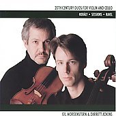 20th Century Duos for Violin and Cello / Gil Morgenstern, Darrett Adkins