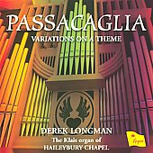 Passacaglia / Derek Longman