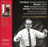 Wolfgang Sawallisch Conducts Schubert, Mozart, Weill, Strauss