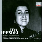 Beethoven: Violin Concerto; Sibelius: Violin Concerto /  Ida Haendel