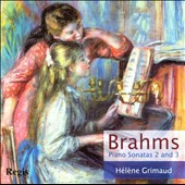 Brahms: Piano Sonatas 2 and 3 / H&eacute;l&egrave;ne Grimaud