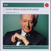 Bruckner: Symphonies Nos. 1-9 / Gunter Wand, Cologne Radio SO [9 CDs]