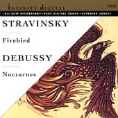 Stravinsky: Firebird;  Debussy: Nocturnes