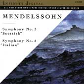 Mendelssohn: Symphonies nos 3 & 4