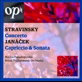 Stravinsky: Concerto; Jan&aacute;cek: Capriccio & Sonata