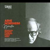 Arne Nordhiem: Epitaffio; Monolith; Canzona; Fonos; Adieu / Marius Hesby, trombone