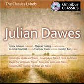 Julian Dawes: Chamber Music / Emma Johnson, Stephen Stirling, Gemma Rosefield, et al.