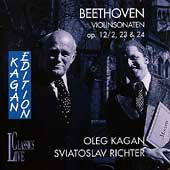 Kagan Edition Vol 9 - Beethoven: Violinsonaten / Richter