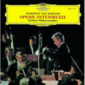 Opera Intermezzi / Karajan, Berlin PO