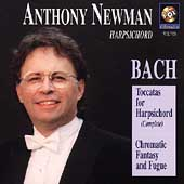 Anthony Newman - Bach: Toccatas for Harpsichord