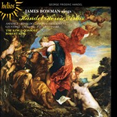 Handel: Heroic Arias from Amadigi, Rinaldo, Alcina, Ottone et al. / James Bowman, countertenor