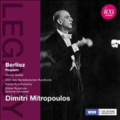 Berlioz: Requiem / Nicolai Gedda, tenor. Mitropoulos