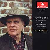 Karl Korte: Extensions: A Retrospective of Electro-Acoustic Compositions