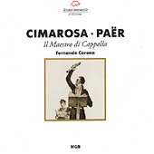 Cimarosa, Pa&#235;r: Il Maestro di Cappella / Casella, Corena
