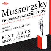 Mussorgsky, Glinka, B&ouml;hme, Alabiev /Fine Arts Brass Ensemble