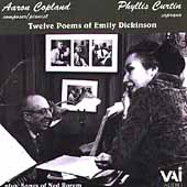 Copland: Twelve Poems of Emily Dickinson;  Rorem / Curtin