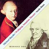 M. Haydn, Mozart: Sechs Duos / S. Lautenbacher, U. Koch