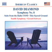 American Classics - Diamond: Symphony no 8, etc / Schwarz