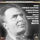 Berlioz: Symphonie Fantastique;  Debussy, et al / Walter
