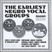 Various Artists: Earliest Negro Vocal Groups, Vol. 4