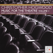 Christopher Hogwood Conducts Music for the Theater Vol 1