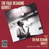 Paul Desmond Quintet: Paul Desmond Quintet Plus the Paul Desmond Quartet