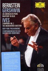 Bernstein Conducts Gershwin & Ives / An American in Paris / Symphony No. 2 [DVD]