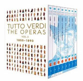 Tutto Verdi: The Operas, Vol. 3 - 1855-1893 / Falstaff, Otello, Aida, Don Carlos, La Forza del Destino, Un Ballo, Simon Boccanegra, I Vespri Siciliani [11 DVDs]