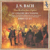 Bach. Musical Offering. Le Concert Des Nations, Jordi Savall