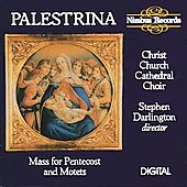 Palestrina: Mass for Pentecost, etc / Darlington, et al